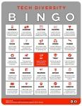 Thumbnail of mini-poster of Tech Diversity Bingo Card